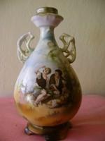 ALTWIEN porcelán váza Murillo festmény részlettel díszítve