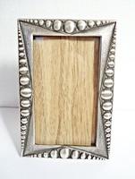 Régi asztali ezüst képkeret