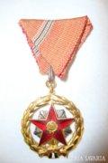 Kiváló szolgálatért érdemrend kitüntetés