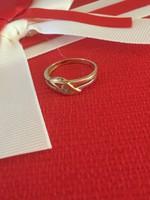 14K arany gyűrű belső átmérője 16mm