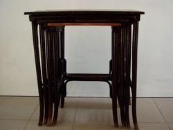 Eredeti, Thonet kisasztal, 4 db