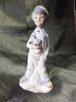 NAO (LLADRO) Spanyol porcelán figura 20 cm magas
