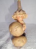 Amerikai műgyanta krumpliszedő Manó 12 x 7 x 5 cm