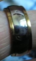 Stainless steel gyűrű, 19/59,7 mm, forgó karikával