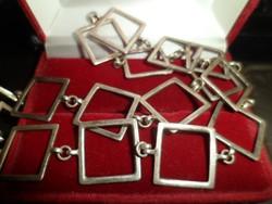 Minimalista ezüst nyaklánc