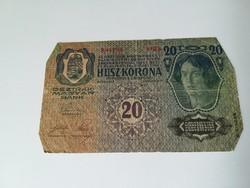 1913-as 20 Korona D.Ö fb