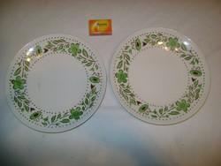 Régi gránit lapos tányér - két darab