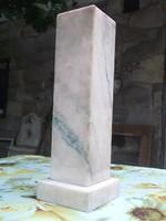 Rózsaszín márványtalp-oszlop-posztamens-állvány szoborhoz,bármihez
