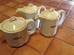 Kávé asztali kiöntők , kancsók