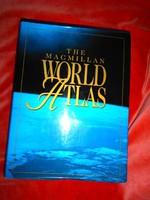 World Atlas (térkép)-Nagyméretű -igényes kialakítású HIBÁTLAN