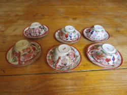 Kézzel festet kínai teáscsésze készlet