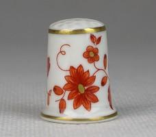 0S485 Hollóházi porcelán gyűszű SC/B