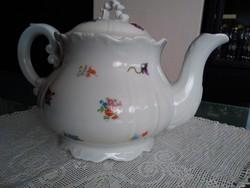 Antik Zsolnay porcelán teás kanna !
