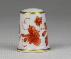 0S486 Hollóházi porcelán gyűszű SC/B