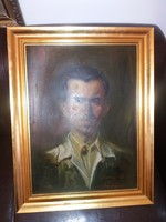 Szignós portré, önarckép