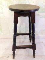 Magasított régi szék (bárszék)