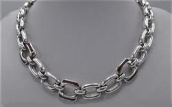 Egyedi ezüst nyakék 78,12 Gramm.