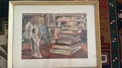Lekles András képcsarnokos festmény