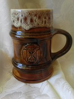 Zsolnay - mázas söröskorsó