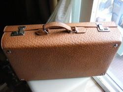 Régi Massag bőr koffer bőrönd