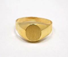 Arany pecsétgyűrű (ZAL-Au70412)