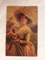 Antik képeslap - Degi