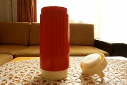 Retro műanyag (fagyis - étel) termosz - 8,5 dl