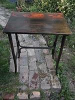 Antik thonet asztal - szerviz asztalból a legnagyobbik