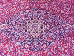 Iráni perzsa szőnyeg.Kézicsomózású,gyapjú.200x315cm.Gyönyörű.