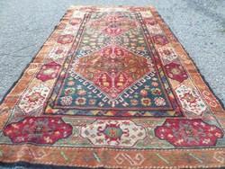 Kaukázusi Sírván értékes,ritka kézi csomózású gyapjú szőnyeg 192cmx105cm