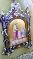 Házioltár, Szűz Mária, Jézus ábrázolással