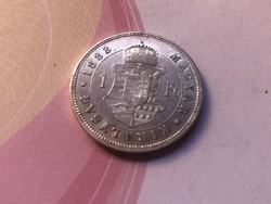 1883 ezüst 1 forint,gyönyörű