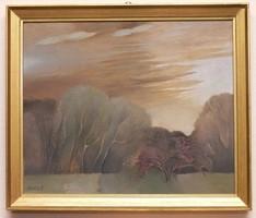Somos Miklós 60x50 festmény
