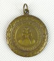 0S895 Antik irredenta sportérem bronzérem 37 mm