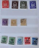 Németország (német bélyegek) az 1867-es időszaktól (76 darab)
