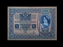 1000 KORONA - NAGYON SZÉP 1902-BŐL - BÉLYEGEZVE