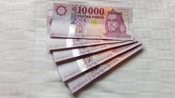 2014 évi Új 10.000.-Ft-os bankjegy 5 db sorszámkövető UNC