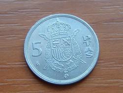 SPANYOL 5 PESETA 1983 M S+V