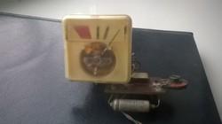 B 4-es TESLA szalagos magnó kivezérlésjelző,bontott,működőképes.