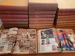 SPORTTÖRTÉNETI KURIÓZUM 22 kötetben!