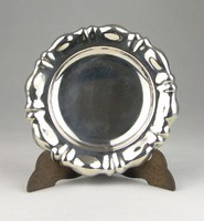0T028 Jelzett keresztelő tányér ezüst 62 g