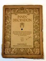 1929 május    /  DEUTSCHE KUNST UND DEKORATION  /  RÉGI EREDETI ÚJSÁG Szs.:  5681