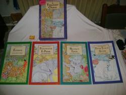 A természet csodái - 1994 - négy könyv mappában