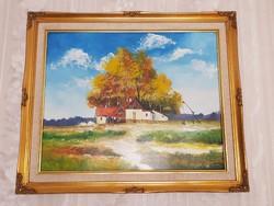 Rég múlt idők  Papp Tünde 60 x 50,  csodálatos galériás festménye