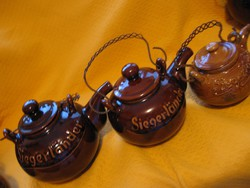 Siegerlander Mackes M. Bucholz kézműves közepes teás kanna