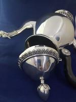 Ezüst gyönyörű 925-ös teáskanna 998 g.