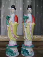 Antik kínai figura párban