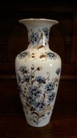 Zsolnay búzavirágos váza - ( 27 cm. magas )