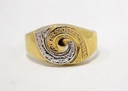 Kő nélküli arany gyűrű (ZAL-Au73289)
