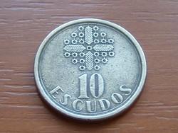 PORTUGÁLIA 5 ESCUDOS 1987 CSIPKE